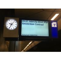 Buy cheap Fully Sealed Train Station Digital Signage Indoor Transit Display For Platforms product