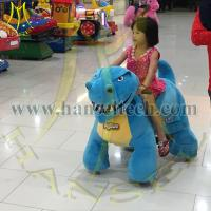 Buy cheap Hansel animal kids ride toys plush animal rides mini cars on game machine product