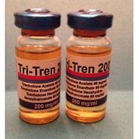 Buy cheap Waterproof Custom Vial Labels Pvc Glossy Labels For Tri-Tren 200 Mg/Ml product