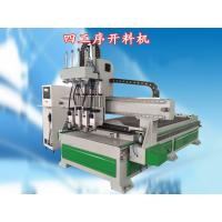 Buy cheap 4th Axis Automated Wood Cutting Machine With USB Port To Transfer Program product