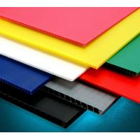 Buy cheap Eco - Friendly Anti - Corrosion Pp Hollow Sheet Corrugated Plastic Board 2mm - 10mm Thickness product