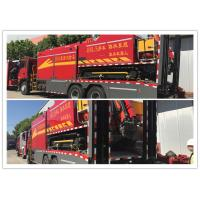 Buy cheap Large Remote Water Supply System Fire Truck Crawler Tracking System product