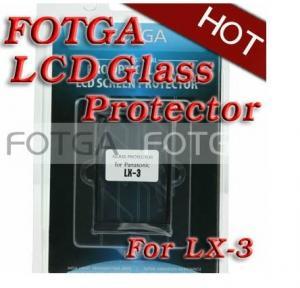 Buy cheap Favorable cubierta de cristal óptica del protector de la pantalla LCD FOTGA de la cámara digital para Panasonic LX-3 product