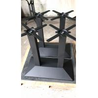 Buy cheap Rectangle 4 Person Powder Coated Table Legs Bistro Table Legs OEM ISO9001 product