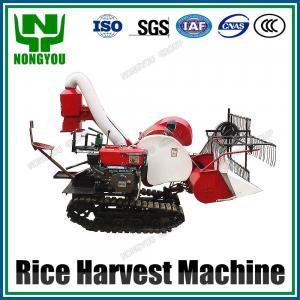 Buy cheap Mini Paddy Harvester Machine 1200mm cutting width 15HP 4LZ-0.8 product