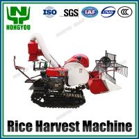 Buy cheap Mini Paddy Harvester Machine 1200mm cutting width 15HP 4LZ-0.8 from wholesalers