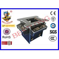 China Black Diy Arcade Game Machine , 3 Side Coin Operated Arcade Machines on sale
