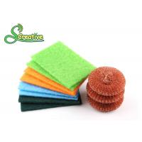 Buy cheap Copper Wire Mesh Metal Dish Scrubber Effective To Remove Stubborn Stains product