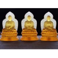 Buy cheap Precious Colored Glaze Buddha Figure For Altar And Worship Custom Texts Accepted product