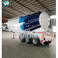 Buy cheap Tri Axles 12 wheels 45cbm Powder Tanker Bulk Cement Semi Truck Trailer product
