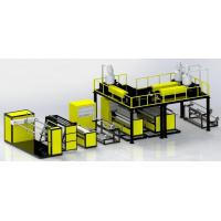 Buy cheap Three Layers Air Bubble Film Making Machine For Plastic Manufacturing product