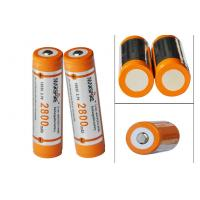 China High capacity 3.7V Rechargeable Lithium Ion Battery for Led torch wholesale