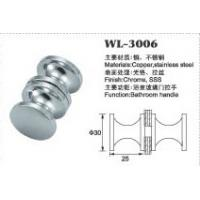Buy cheap small door handle shower door knob shower door hardware WL-3006 Dia.30x25mm product