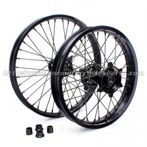 O costume bordas da roda da motocicleta de 21 polegadas/velomotor feito sob encomenda do preto roda