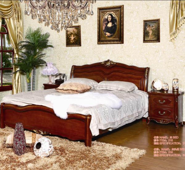 2015 new design solid wood bed for sale hot selling antique oak wooden beds 102860536. Black Bedroom Furniture Sets. Home Design Ideas