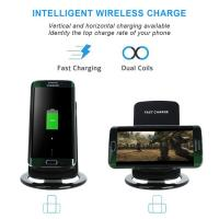 Buy cheap Fast 10W Induction Charge Portable Mobile Cell Phone Qi Wireless Charger STAND For Iphone And Samsung For Apple product