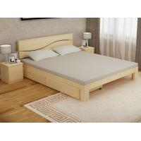 Buy cheap Bedroom Modern Home Furniture Sets Wood Grain With Bottom Drawers product