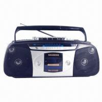 China Radio Cassette Recorder with USB or SD Card Players on sale