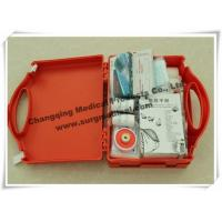 China Waterproof First Aid Kits Plastic Emergency Assistance HSE Complian With Carrying Handle on sale