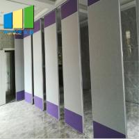 Buy cheap With Retractable Seal Wood Insulated Room Dividers Movable Partition Walls from wholesalers