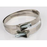 Buy cheap Galvanized Steel Quick Release Hose Clamp /  Low Pressure Pressure Hose Clamps product