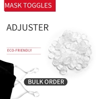 Buy cheap Transparent Stopper & Toggles For Face Mask product