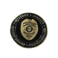 Buy cheap Custom Gold Plating Army Challenge Coins / Souvenir Coins With Different Sides from wholesalers