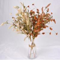 Buy cheap The simulation flower,Artificial flowers,Crepe paper grass flower ,Dried flowers, hardcore cotton ,pine cone product