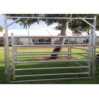 Buy cheap Miniature Farm Fence Panels , Light Duty Galvanized Horse Fence Panels product
