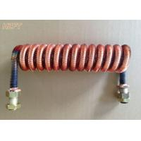 Buy cheap Customized Condenser Coils Liquid Cooling / Finned Coil Heat Exchangers product