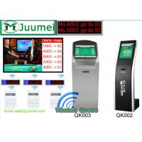 Buy cheap AUTO Touch Screen Bank Queue Ticketing System With 80mm Thermal Queue Ticket Printer product