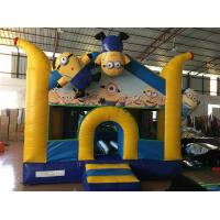 Buy cheap Inflatable Minions Themed Kids Inflatable Bounce House With Digital Painting from wholesalers
