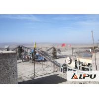 China High Efficiency Hard Stone Crushing Plant With Capacity 100 - 150 TPH on sale