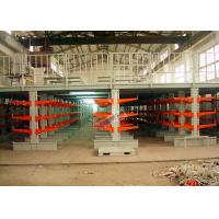 Buy cheap Industrial Orange Extra Heavy Duty Cantilever Racks For Plywood / Furniture Parts product