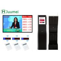 China Electronic Queue Display System With TV Advertising Video And Call Number on sale