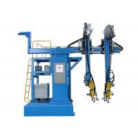 Buy cheap Cantilever Type Back CO2 Welding Machine , Automatic Steel Box Assembly Machine product