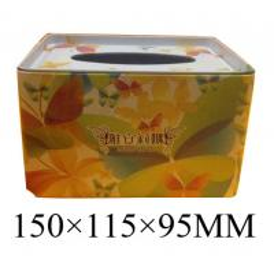China Facial Tissue Tin on sale