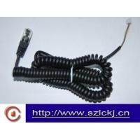 Buy cheap Telephone Handset Coil cable ( flat cable) product