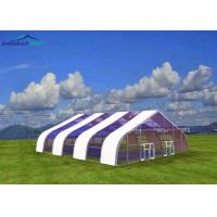 Buy cheap 42X25 M Stainless Steel Pvc Large Storage Tent Waterproof For Badminton Stadium from wholesalers