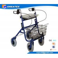 Buy cheap Economy Durable Steel Folding Rollator Walker with Four Wheel For Handicapped product