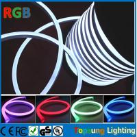quality new design 11 18mm rgb flexible led neon rope light with dmx. Black Bedroom Furniture Sets. Home Design Ideas