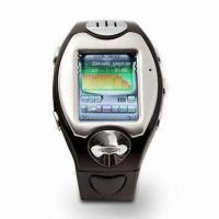 Quality Watch Mobile Phone with 128MB Inside, Up to 32GB T-Flash Card and 100-hour Standby Time for sale