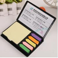Buy cheap Adhesive note organiser PU sticky note and calendar product