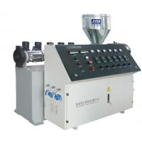 Buy cheap Single Screw Board Extrusion Line For Wire Low Noise / Steady Operation product