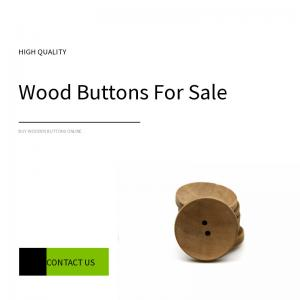 Buy cheap 22L 24L Natural Wooden Buttons 2 Holes product