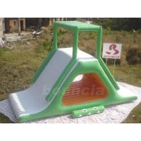 Buy cheap Inflatable Floating Water Slide With Stainless Steel Anchor Rings product