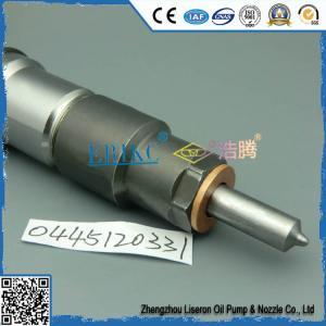 Inyector 0 del dispensador del surtidor de gasolina de Bosch 445 120 331, traje común del inyector del motor del carril de Jie/fa-ng Tru/ck para la boca DLLA 151