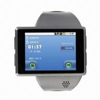 Buy cheap Watch Phone with Google Android OS 2.2, Dual-core, GPS, G-sensor and Health Management product