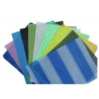 China OEM Design Colored Pvc Mesh Fabric Used For Outdoor Architectural Decoration on sale
