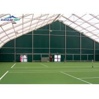 Buy cheap 30m X60m Huge Curved Sports Shelter Tent  For Tennis Court No Pole Inside from wholesalers